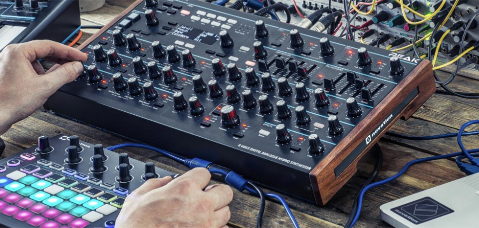 Новые прошивки для Novation Peak, Behringer Neutron и Korg Prologue